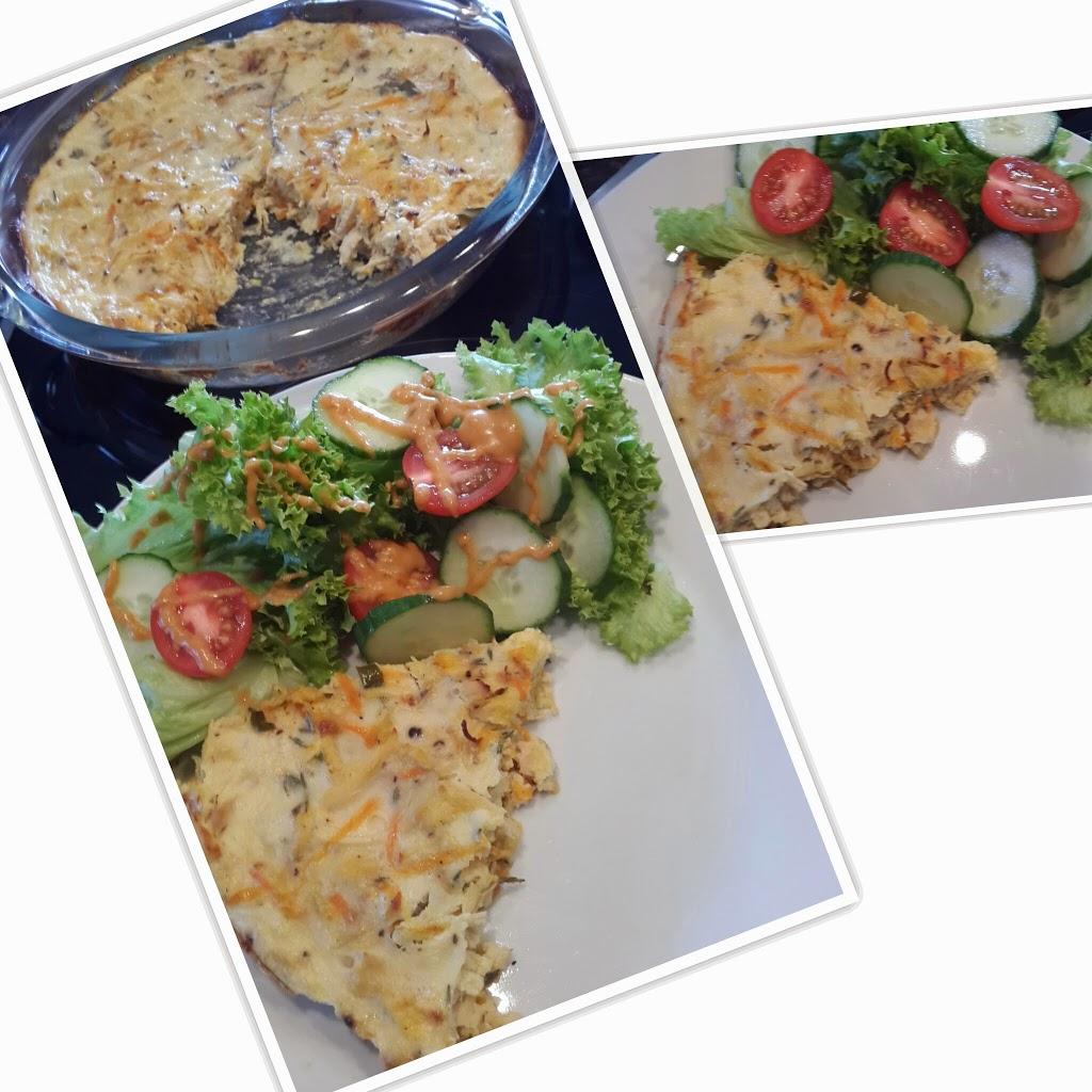 Quick Chicken And Vegetable Quiche Recipe — Dishmaps
